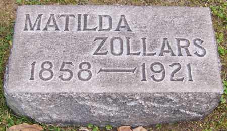 ZOLLARS, MATILDA - Stark County, Ohio   MATILDA ZOLLARS - Ohio Gravestone Photos