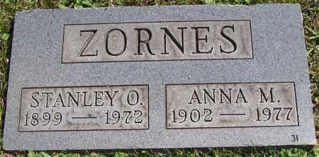 ZORNES, ANNA M. - Stark County, Ohio | ANNA M. ZORNES - Ohio Gravestone Photos