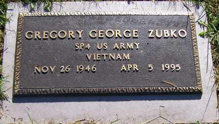 ZUBKO, GREGORY GEORGE - Stark County, Ohio | GREGORY GEORGE ZUBKO - Ohio Gravestone Photos