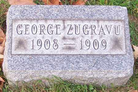 ZUGRAVU, GEORGE - Stark County, Ohio | GEORGE ZUGRAVU - Ohio Gravestone Photos