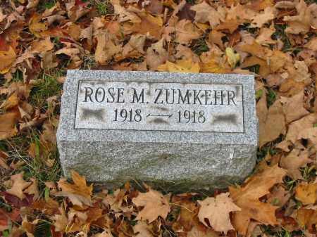 ZUMKEHR, ROSE M - Stark County, Ohio   ROSE M ZUMKEHR - Ohio Gravestone Photos