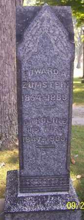 ZUMSTEIN, EDWARD A. - Stark County, Ohio   EDWARD A. ZUMSTEIN - Ohio Gravestone Photos