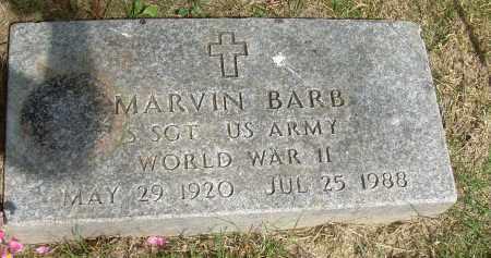 BARB, MARVIN - Summit County, Ohio | MARVIN BARB - Ohio Gravestone Photos