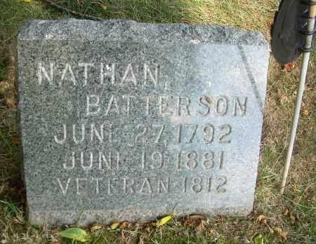 BATTERSON, NATHAN - Summit County, Ohio | NATHAN BATTERSON - Ohio Gravestone Photos