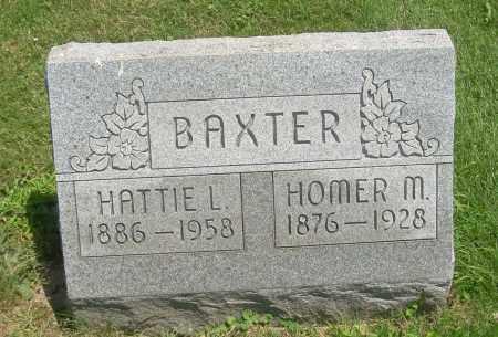 BAXTER, HOMER M - Summit County, Ohio   HOMER M BAXTER - Ohio Gravestone Photos