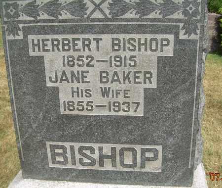 BISHOP, HERBERT - Summit County, Ohio | HERBERT BISHOP - Ohio Gravestone Photos