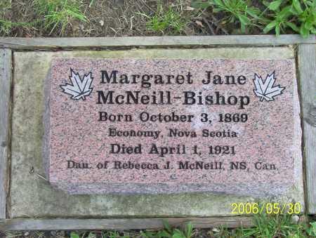 BISHOP, MARGARET JANE - Summit County, Ohio | MARGARET JANE BISHOP - Ohio Gravestone Photos