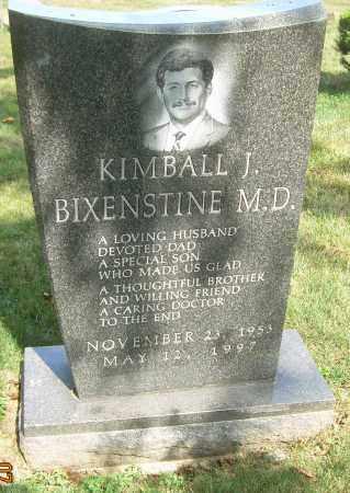 BIXENSTINE, MD, KIMBALL J - Summit County, Ohio | KIMBALL J BIXENSTINE, MD - Ohio Gravestone Photos