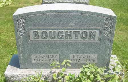 BOUGHTON, ROSEMARY - Summit County, Ohio | ROSEMARY BOUGHTON - Ohio Gravestone Photos