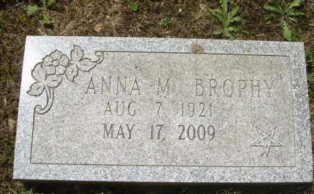 BROPHY, ANNA M - Summit County, Ohio   ANNA M BROPHY - Ohio Gravestone Photos