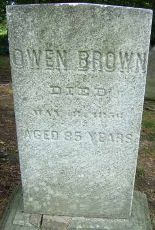 BROWN, OWEN - Summit County, Ohio | OWEN BROWN - Ohio Gravestone Photos