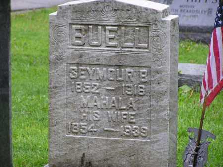 BUELL, MAHALA - Summit County, Ohio | MAHALA BUELL - Ohio Gravestone Photos