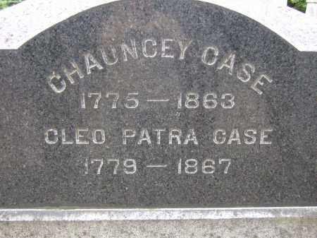 CASE, CHAUNCEY - Summit County, Ohio | CHAUNCEY CASE - Ohio Gravestone Photos