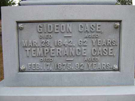 MINOR CASE, TEMPERANCE - Summit County, Ohio | TEMPERANCE MINOR CASE - Ohio Gravestone Photos