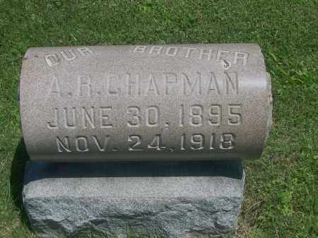 CHAPMAN, A R - Summit County, Ohio | A R CHAPMAN - Ohio Gravestone Photos