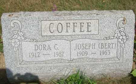 COFFEE, DORA G - Summit County, Ohio | DORA G COFFEE - Ohio Gravestone Photos
