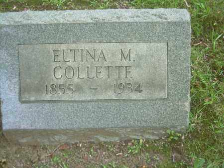 MARBLE COLLETTE, ELTINA - Summit County, Ohio | ELTINA MARBLE COLLETTE - Ohio Gravestone Photos