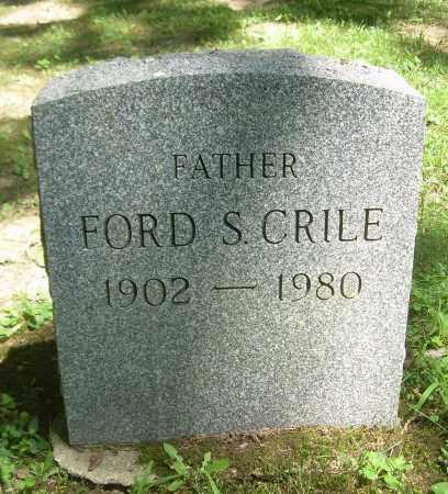 CRILE, FORD S - Summit County, Ohio   FORD S CRILE - Ohio Gravestone Photos