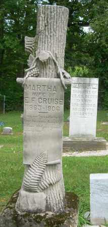 CRUISE, MARTHA I - Summit County, Ohio | MARTHA I CRUISE - Ohio Gravestone Photos