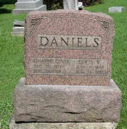 DANIELS, LEWIS W - Summit County, Ohio | LEWIS W DANIELS - Ohio Gravestone Photos
