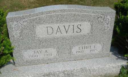 DAVIS, ETHEL - Summit County, Ohio | ETHEL DAVIS - Ohio Gravestone Photos