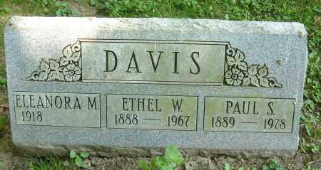 DAVIS, ELEANORA M - Summit County, Ohio | ELEANORA M DAVIS - Ohio Gravestone Photos