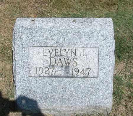 DAWS, EVELYN J - Summit County, Ohio   EVELYN J DAWS - Ohio Gravestone Photos