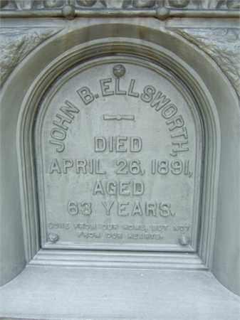ELLSWORTH, JOHN BIRGE - Summit County, Ohio   JOHN BIRGE ELLSWORTH - Ohio Gravestone Photos