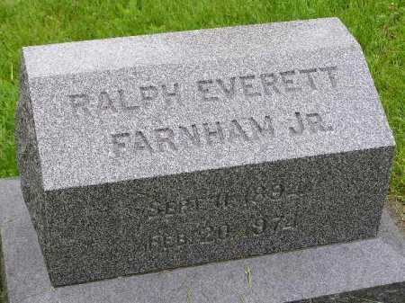 FARNHAM, RALPH EVERETT, JR. - Summit County, Ohio | RALPH EVERETT, JR. FARNHAM - Ohio Gravestone Photos