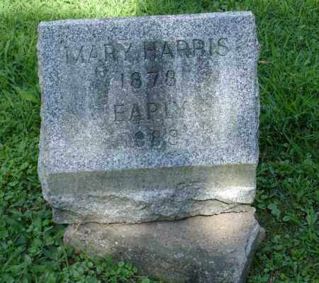 HARRIS, EARLY - Summit County, Ohio   EARLY HARRIS - Ohio Gravestone Photos