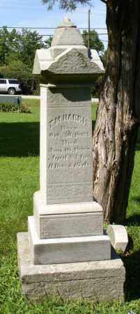 HARRIS, T M - Summit County, Ohio | T M HARRIS - Ohio Gravestone Photos