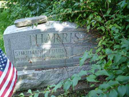 HARRIS, SHERMAN - Summit County, Ohio | SHERMAN HARRIS - Ohio Gravestone Photos