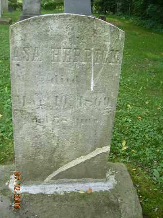 HERRICK, ASA - Summit County, Ohio   ASA HERRICK - Ohio Gravestone Photos
