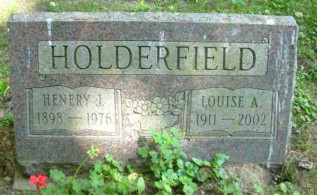 HOLDERFIELD, LOUISE A - Summit County, Ohio | LOUISE A HOLDERFIELD - Ohio Gravestone Photos