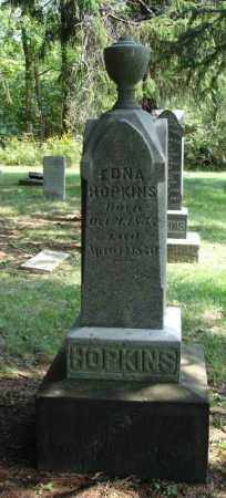 HOPKINS, EDNA - Summit County, Ohio | EDNA HOPKINS - Ohio Gravestone Photos