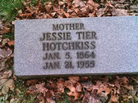 HOTCHKISS, JESSIE - Summit County, Ohio | JESSIE HOTCHKISS - Ohio Gravestone Photos