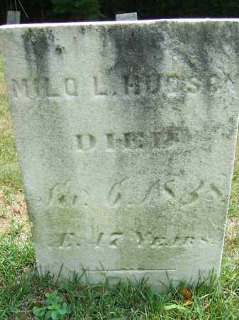 HUDSON, MILO LEE - Summit County, Ohio   MILO LEE HUDSON - Ohio Gravestone Photos