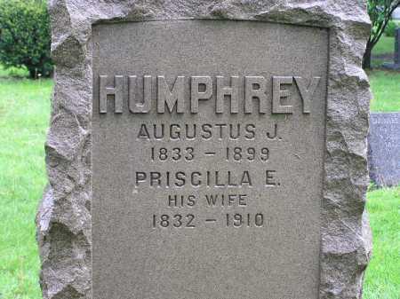 HUMPHREY, PRISCILLA E. - Summit County, Ohio   PRISCILLA E. HUMPHREY - Ohio Gravestone Photos