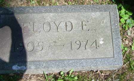 HUTCHINS, FLOYD E - Summit County, Ohio | FLOYD E HUTCHINS - Ohio Gravestone Photos