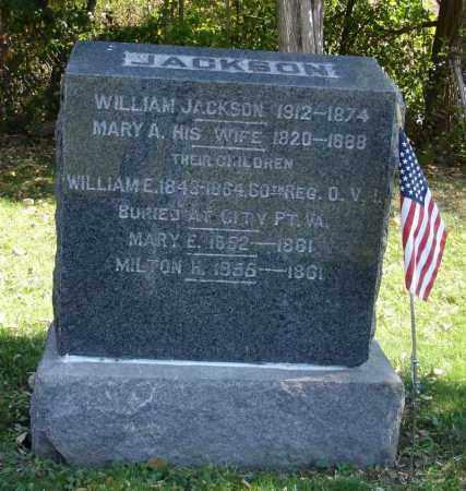 JACKSON, WILLIAM - Summit County, Ohio | WILLIAM JACKSON - Ohio Gravestone Photos