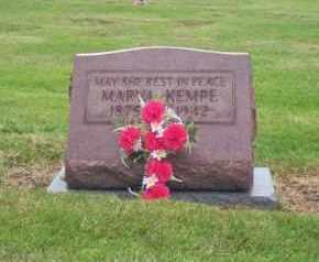 KEMPE, MARYA - Summit County, Ohio   MARYA KEMPE - Ohio Gravestone Photos