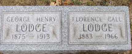 LODGE, FLORENCE R - Summit County, Ohio | FLORENCE R LODGE - Ohio Gravestone Photos