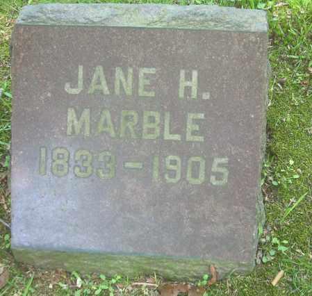 HEATH MARBLE, JANE - Summit County, Ohio | JANE HEATH MARBLE - Ohio Gravestone Photos