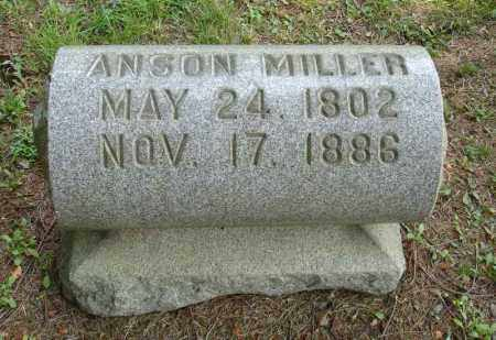 MILLER, ANSON - Summit County, Ohio | ANSON MILLER - Ohio Gravestone Photos