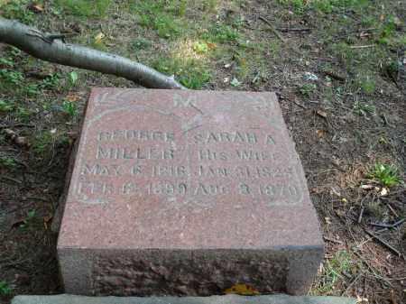 MILLER, GEORGE - Summit County, Ohio | GEORGE MILLER - Ohio Gravestone Photos