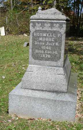 MOORE, ROSWELL P - Summit County, Ohio | ROSWELL P MOORE - Ohio Gravestone Photos