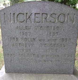 NICKERSON, POLLY - Summit County, Ohio | POLLY NICKERSON - Ohio Gravestone Photos