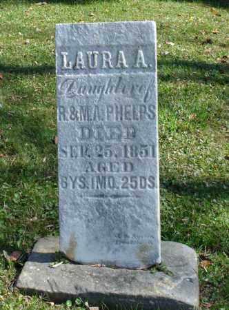 PHELPS, LAURA A - Summit County, Ohio | LAURA A PHELPS - Ohio Gravestone Photos
