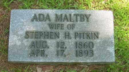 MALTBY PITKIN, ADA - Summit County, Ohio | ADA MALTBY PITKIN - Ohio Gravestone Photos