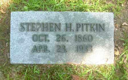 PITKIN, STEPHEN H - Summit County, Ohio | STEPHEN H PITKIN - Ohio Gravestone Photos